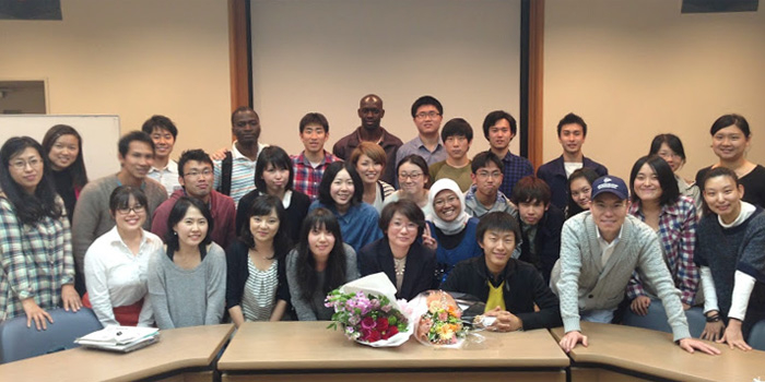 Professor AikoSakurai Delivered Her Final Lecture in GSICS