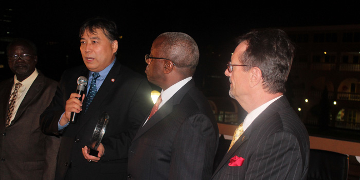 GSICS Professor Receives an Evaluation Award from the Government of Uganda