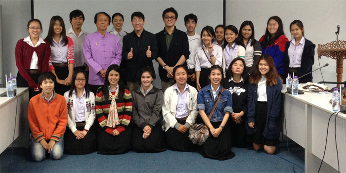 Advanced Overseas Research in Chiang Mai (Kentaro SHIMADA)