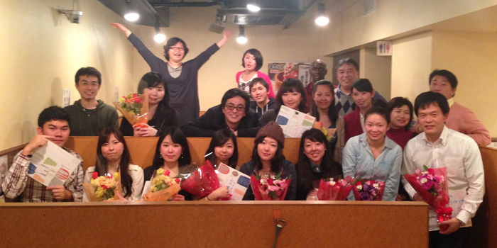 Ogawa-seminar Graduation Party, March 2014