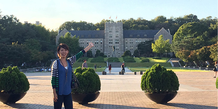 My Experience of CAMPUS Asia Program at Korea University (Yuki HARAMOTO)