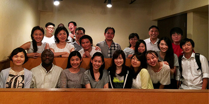 Welcome Party for New Ogawa Seminar Students