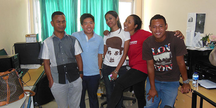 Internship at Ministry of Education in Timor-Leste (Takao OKAMOTO)