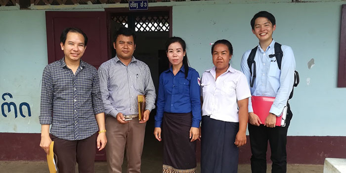 Internship at the Ministry of Education and Sport, Lao PDR (Taiga YANO)
