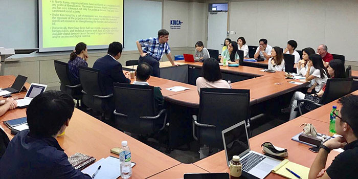 "The 2017 Campus Asia Summer Workshop on ""Risk Management"" at Korea University"